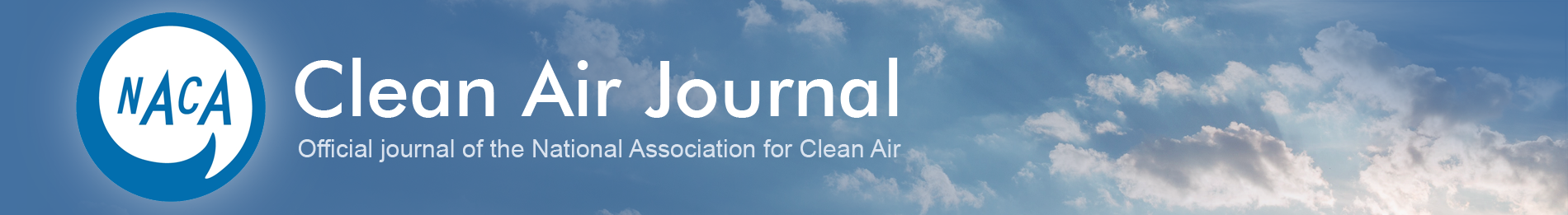 The Clean Air Website banner